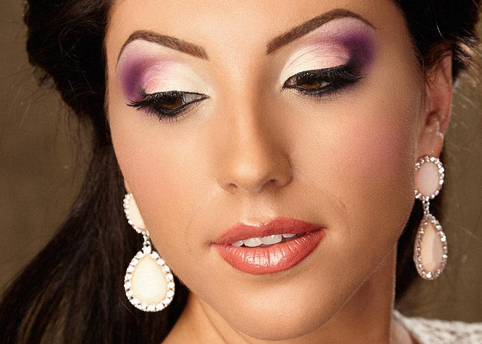 Free Style Salon Makeup Mireasa Ochi Caprui Ruj Caramiziu
